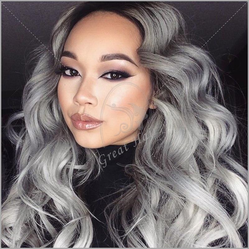 Grey Lavender Hair Tumblr