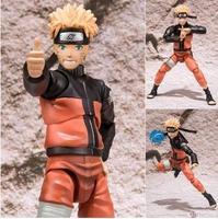 15cm Naruto Shippuden Uzumaki Naruto Action Figures Anime PVC brinquedos Collection Model toys with Retail box Free shipping