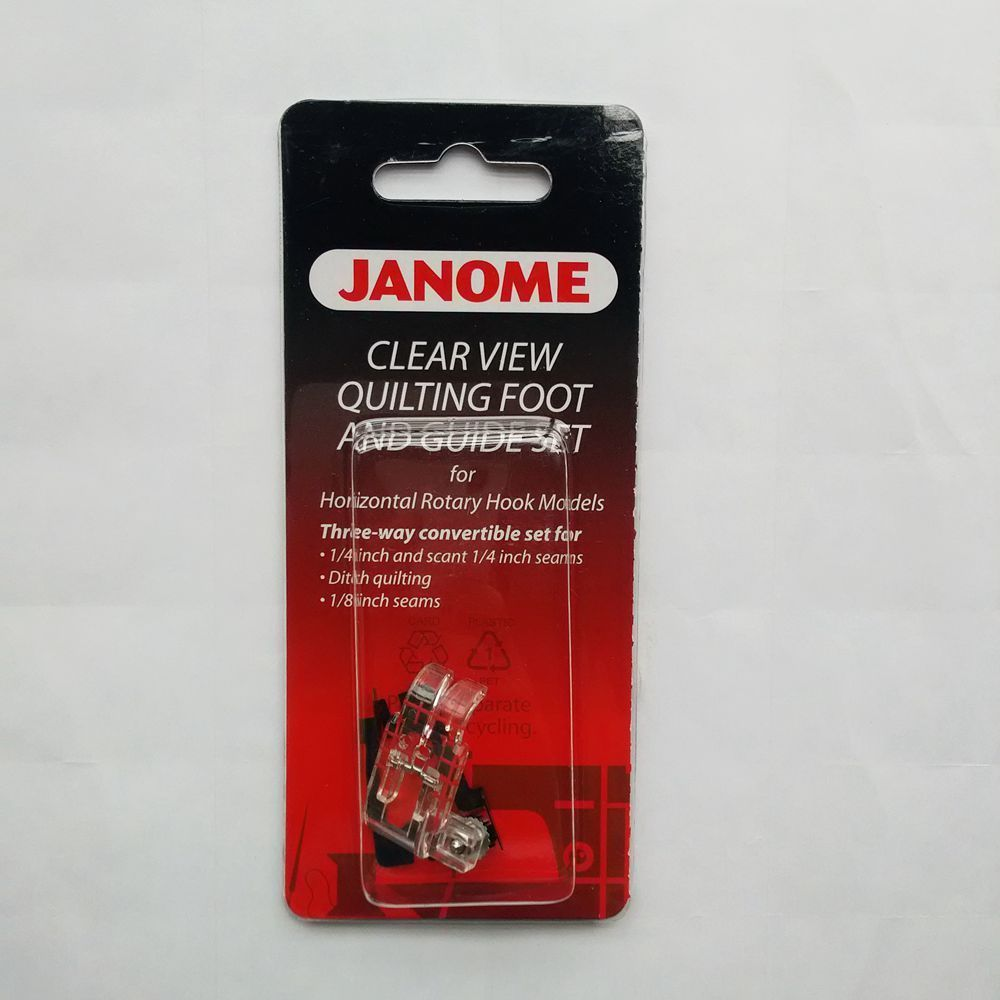 Janome Clear View Quilting Foot And Guide Set 200-449-001 200449001