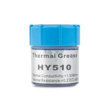2pcs! High insulation 15g silver HY510 Silicone grease, high temperature resistLED Components CPU Repair Cooling paste
