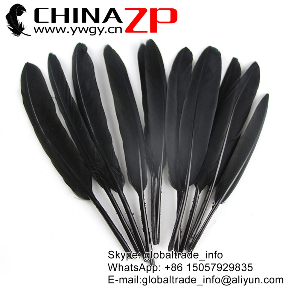 No 1 Plumage Exporting CHINAZP Feathers 1000pcs/lot Top Quality Black Dyed  Duck Cochettes Loose Feathers-in Feather from Home & Garden on