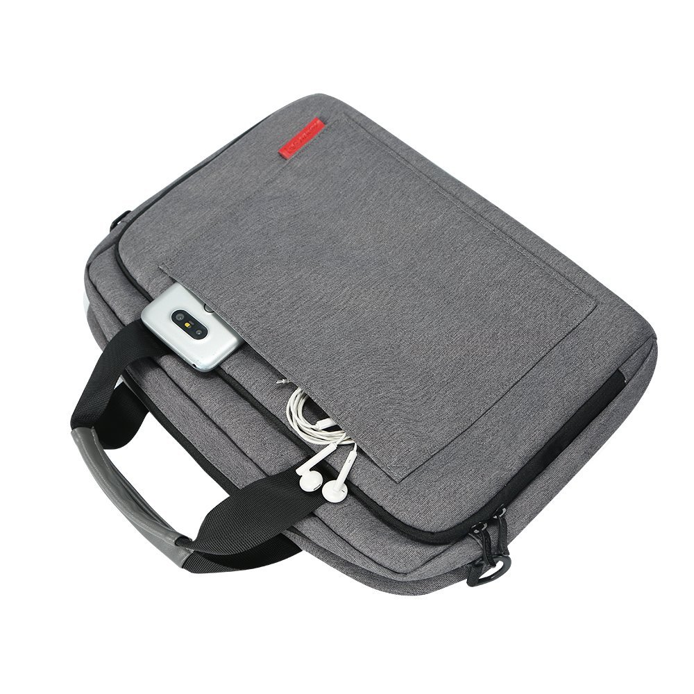 Image 3 - iCozzier Laptop Bag 15.6 13.3 inch Waterproof Notebook Bag for Mackbook Air Pro 13 15  Laptop Shoulder Handbag 13 14 15 inch-in Laptop Bags & Cases from Computer & Office
