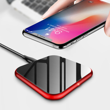 Qi Wireless Charger 10W Fast Charging Mobile Phone Charger for Samsung Galaxy S9 S8 Note8 Wireless Charging for iPhoneX 8/8Plus