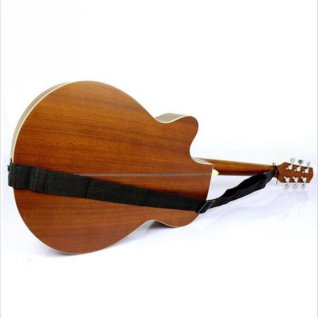Black Acoustic Ukulele Strap