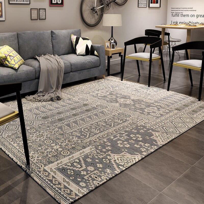 핸드 워시 술집 큰 카펫 거실 바닥 매트 고품질 담요 장식 및 웨딩을위한 큰 카펫 alfombras de salon
