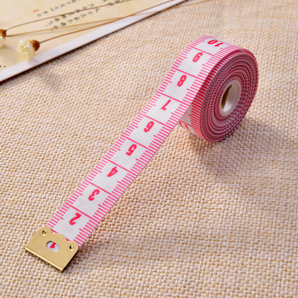 1pcs Body Measuring Ruler Sewing Cloth Tailor Tape Measure Soft 200cm Long