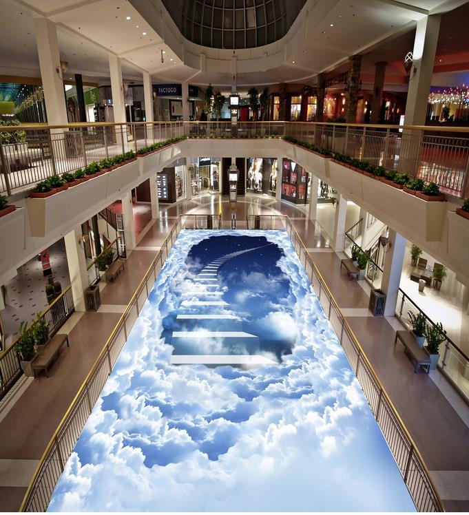 Photo floor wallpaper 3d stereoscopic 3D wallpaper 3d floor murals PVC waterproof floor Home Decoration