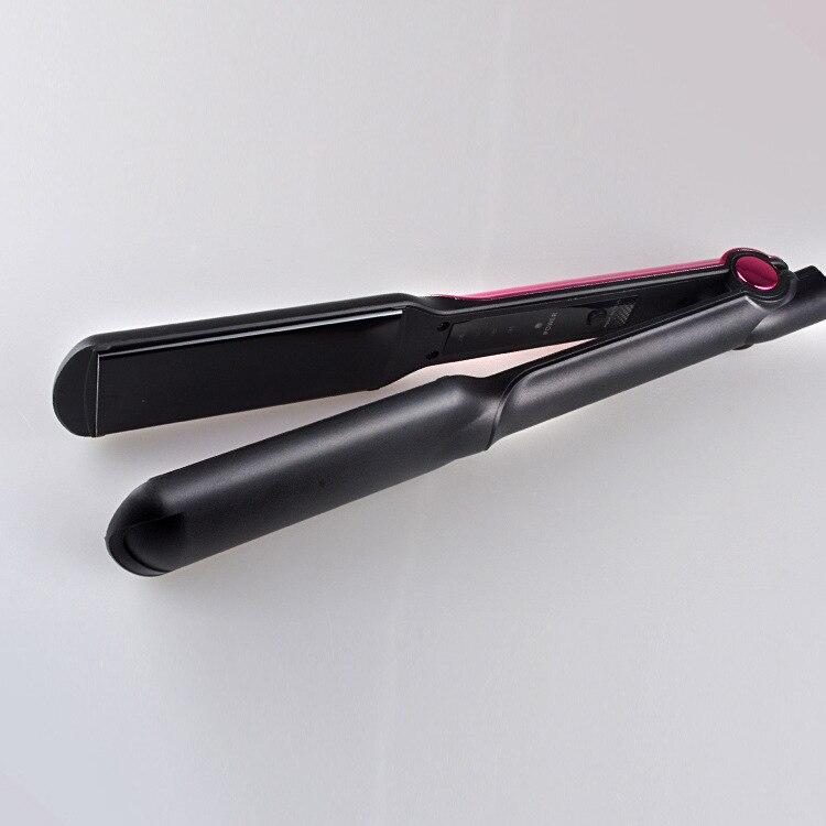 Fers à lisser rouleaux outils de coiffage fer à lisser professionnel fer à lisser et bigoudis 2 en 1 chauffage C19-in Fers à boucler from Appareils ménagers    3