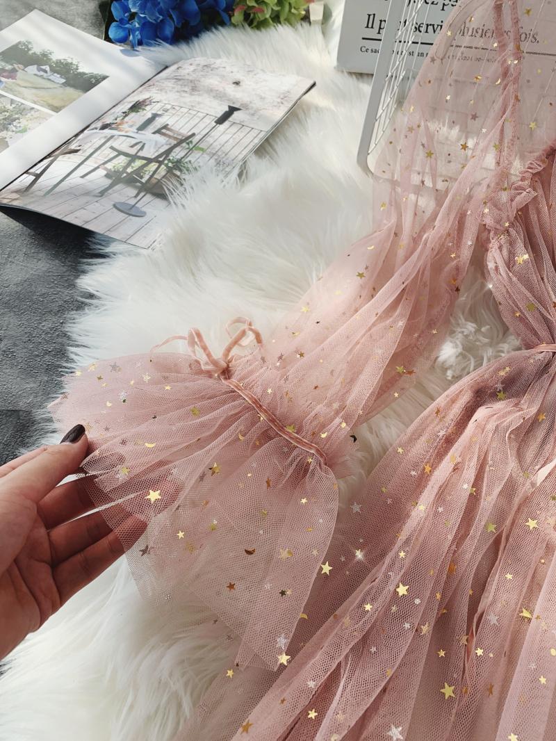 Gauze Two Piece Midi Dress 23