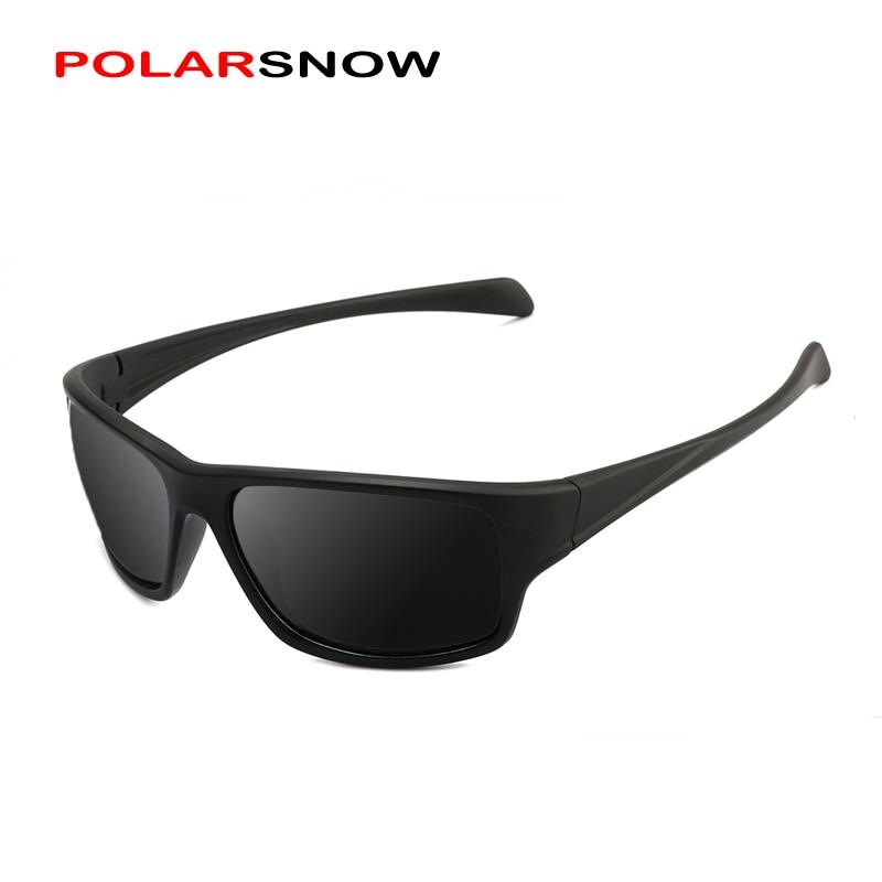 POLARSNOW Licht Klassische Mann-sonnenbrille Polarisierte Platz Männliche Brille Schatten Fahren Brillen Sonnenbrille Oculos Gafas PS8703