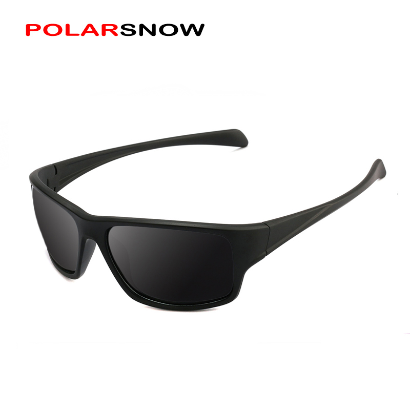 POLARSNOW Light Classic Men Sunglasses Polarized Square Male Glasses Shade Driving Eyewear Sun Glasses Oculos Gafas PS8703