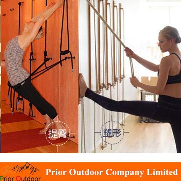 Wall Yoga Rope For Ramamani Iyengar Yoga Institute- The full set Yoga wall Rope Shipping by Post mail аксессуары для йоги yoga era 00803 iyengar