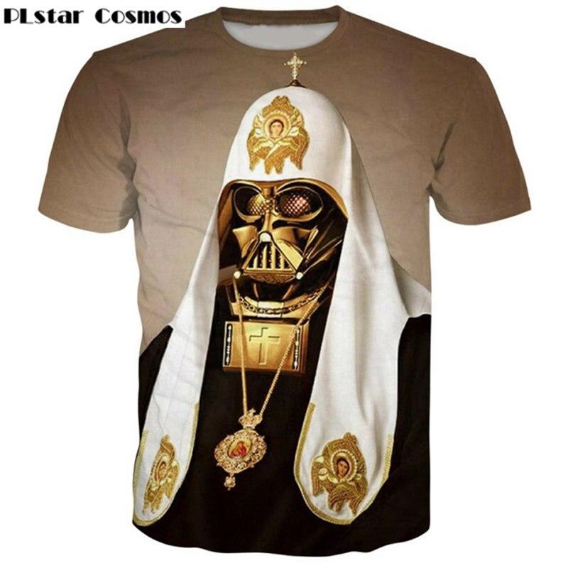 PLstar Cosmos Fashion Pope Vader Hoodies printing 3d Sweatshirts Women Men Tracksuits size S-5XL
