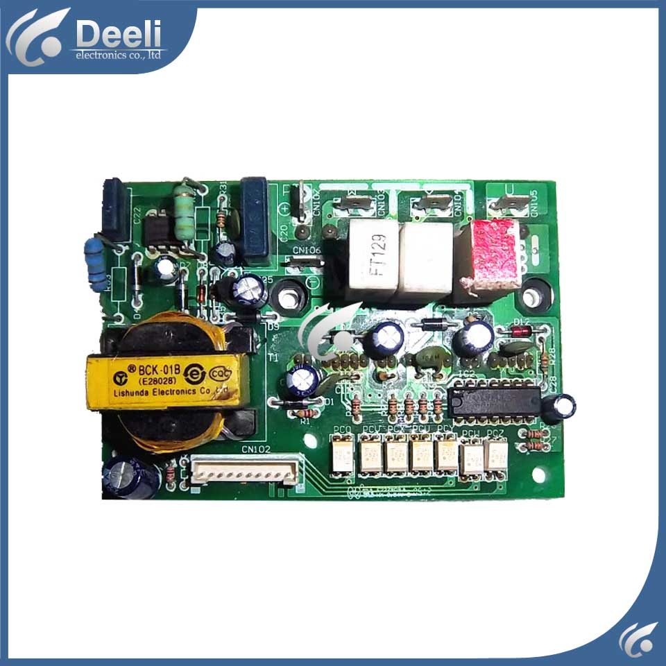 for air conditioning frequency conversion module 0010403523 KFR-26GW/BPF used board good working frequency inverter air conditioner module board ipm201 e225877 52e8 used disassemble