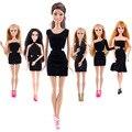 6 куклы платье досуг деловой костюм новые красивые ручной ну вечеринку одежда мода платье для благородный барби смешанного стиля