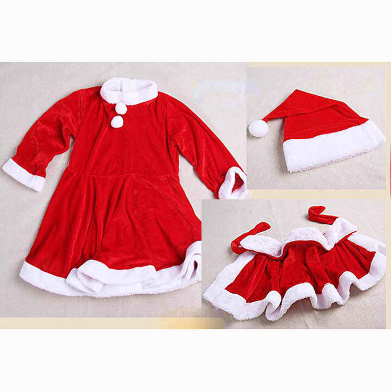 5fe60c9715260 Boys Girls Christmas Outfits Set Children Party Clothing Girls Christmas  Dress Suit Kids New Year Clothes 2 4 6 8 10 12 13 Years