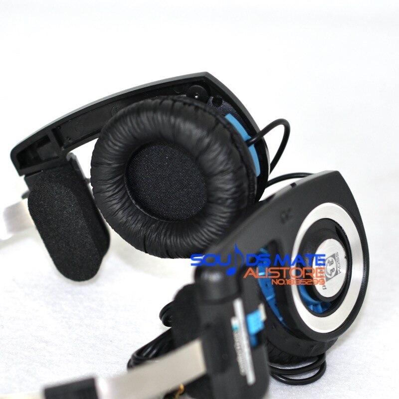 Mais grosso luxo substituição almofada da orelha para koss porta pro pp sp tempestade fone de ouvido 2 pcs (1 conjunto)