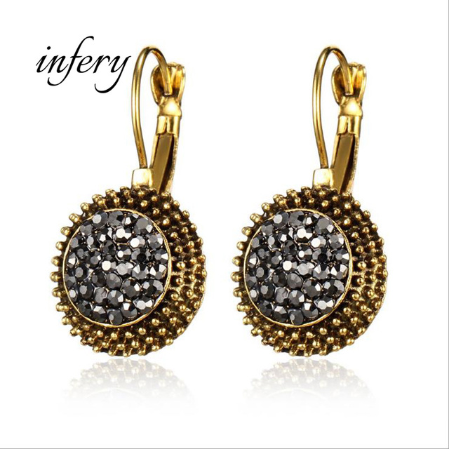 Fashion vintage antique silver gold color half ball dangle drop fashion vintage antique silver gold color half ball dangle drop chandelier earrings wholesale jewelry gift 5e557 aloadofball Gallery