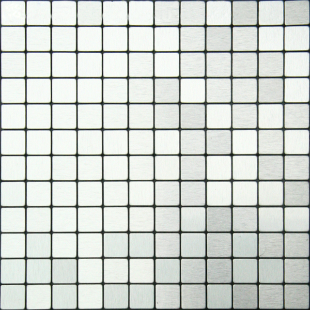 Silver Mosaic Tiles with self adhesive