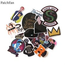 Patchfan 15pcs Riverdale Pvc Waterproof Stickers For scrapbooking Luggage Skateboard Phone Laptop Moto Bicycle Wall Guitar A0912