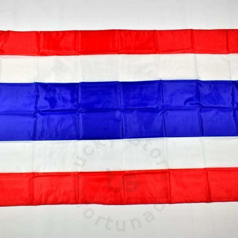 Թաիլանդ 90 * 150 սմ դրոշ Բաններ անվճար - Տնային դեկոր - Լուսանկար 2