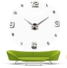 new wall clock 2018 design reloj de pared quartz watch large decorative diy clocks modern living room acrylic 3d stickers Letter