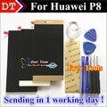 "Alta Calidad Nueva Pantalla LCD + Asamblea de Pantalla Táctil Del Digitizador Para Huawei Ascend P8 GRA-UL10 5.2 ""1080 P Blanco Negro Oro"