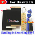 """High Quality New LCD Display + Digitizer Touch Screen Assembly For Huawei Ascend P8 GRA-UL10 5.2"""" 1080P White Black Gold"""