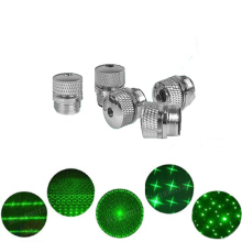5pcs Green Laser 303 Star Cap Hight Powerful device Adjustable Focus Lazer Pointers with Cap(Does not include laser)