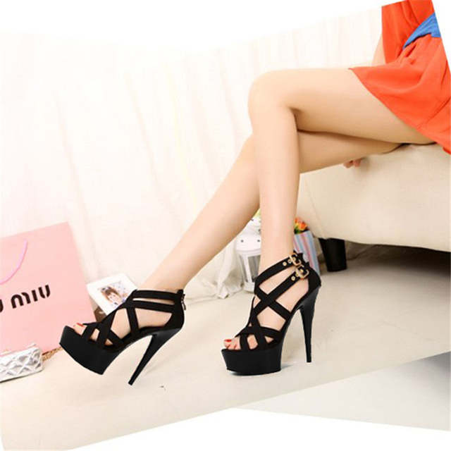 1fb482b91a1c placeholder 15cm sexy clubbing pole dancing high heels 6 inch Exotic Dancer  shoes Stiletto With Platform women