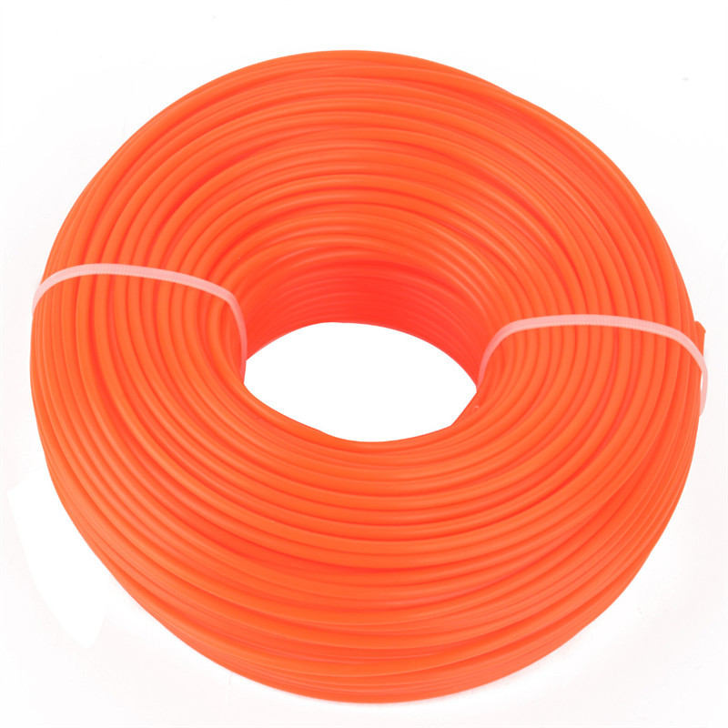 4sizes Nylon Trimmer Strimmer Line Cord Wire String Grass Trimmer Line For Garden Lawn Mower Grass Cutter 1pcs nylon line brush cutter head garden lawn mower bump grass brush trimmer head garden repalcement tools black