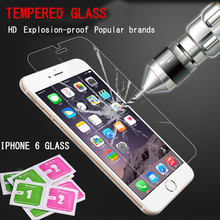 9H 0 26 mm For iphone 6s screen protector film on the iphone4s 5s 6s Screen
