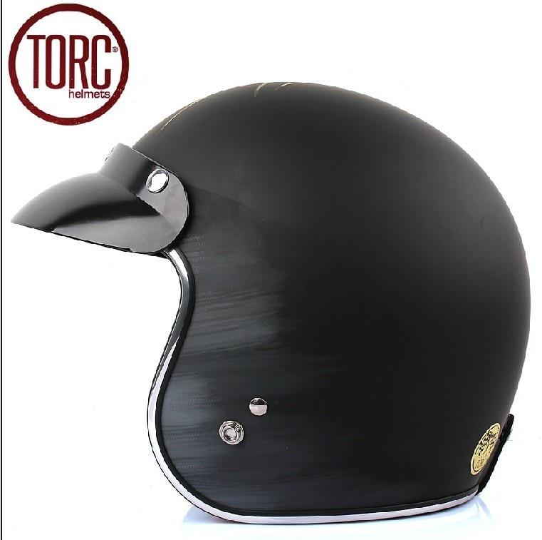 Здесь можно купить   Fashion TORC motorcycle helmet,vintage sctoor 3/4 helmet,moto open face helmet,Lucky 13 moto casco Автомобили и Мотоциклы