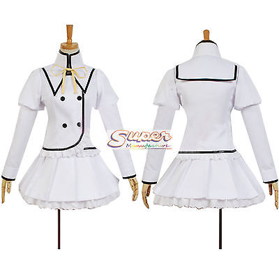DJ DESIGN Bladedance Blade Dance of Elementalers Claire Rouge School Uniform Cosplay Costume