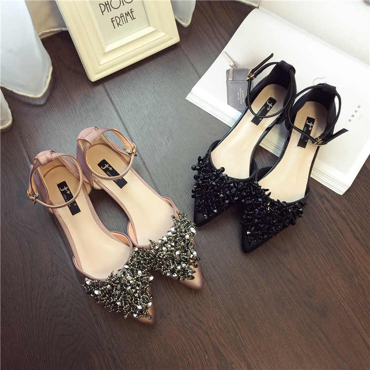 Hot Spring Summer Shoes Bling Sandals Women Flats Heeled Shoes Sequins  Gladiator Sandals Women Wedges sandalia c85b6e6f03e7