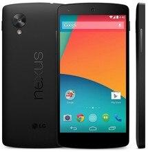 Original LG google Nexus 5 16GB 32GB Unlocked 4G lte D820 D821 android 5.0 4.95'' 8MP Quad core RAM 2GB Mobile phone refurbished