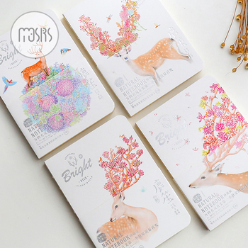 Sketchbook painting School Notebook Diary blank Paper 80 sheets Sketch book Drawing creative office School Supplies Gift cute shcool notebook paper sketchbook diary drawing graffiti painting sketch 80 sheets stationery office supplies gift