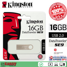 Kingston DTSE9H DTSE9 Metal casing USB 2.0 flash pen drive 16GB 32GB key chain Mac cle usb stick the flash bellek personalizado