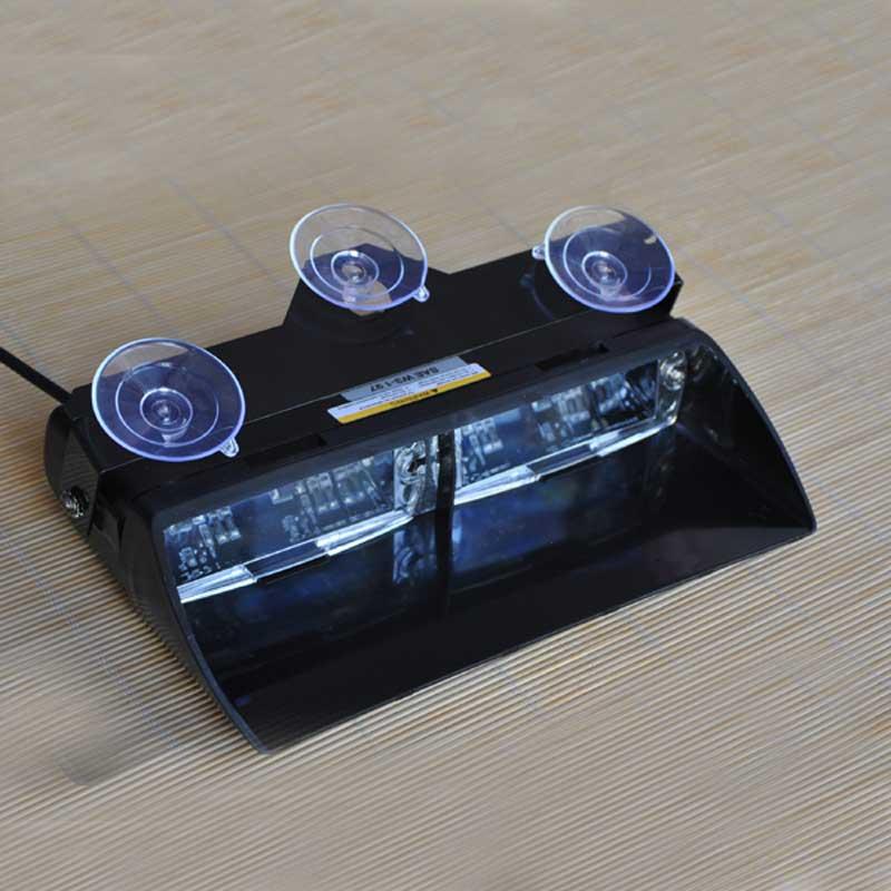FUGSAME S2 16pcs LED Signal Warning Emergency Strobe Police Flashing Light Intimidator LED Dash Light96W Super Bright s2 shovels ray bead 96w led flashing police strobe intimidator windshield dash light