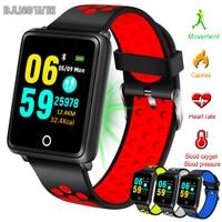 BANGWEI Women Watch Waterproof Sports Watch Heart Rate Blood Pressure Monitor Fitness Tracker Pedometer Men Fitness Smart Watch