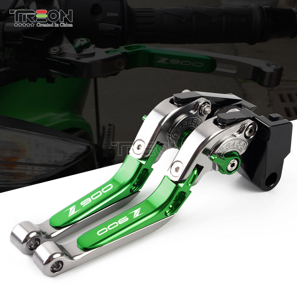 For <font><b>Kawasaki</b></font> Z900 <font><b>Z</b></font>-<font><b>900</b></font> <font><b>2017</b></font> 2018 2019 Motorcycle Accessories Brake Levers Clutch Lever CNC Aluminum Brake Handle image
