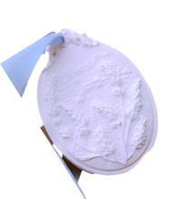 Wholesale bumper harvest paddy rice solid aromatherapy gypsum mold DIY handmade Craft Clay Cement silicone molds