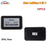 Newest 10pcs DHL Free A Adblue Emulator Adblue 8IN1 VD400 New AdBlue 8 IN 1 OBDII