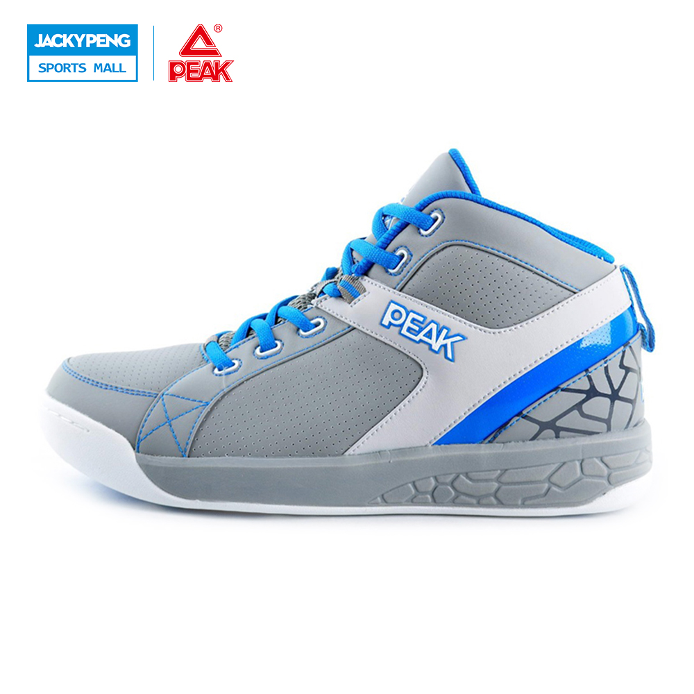 PEAK SPORT Men New Style Basketball Shoes Breathable Sports Sneakers Durable Rubber Outsole Athletic Training Shoes Ankle Boots peak sport speed eagle ii men basketball shoes breathable outdoor rubber outsole sneakers cushion 3 revolve tech athletic boots