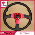 New MOMO Racing PU Steering Wheel With Horn Line  RS-STW006