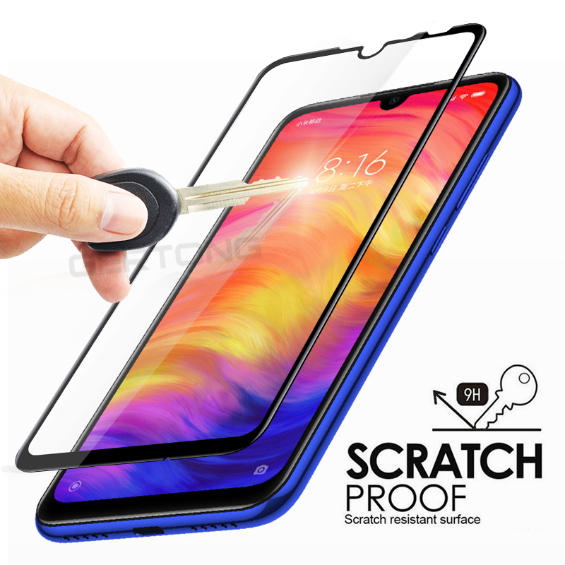Screen Protector Tempered Glass For Xiaomi Redmi 7 Note 7 Pro Full Cover Front Film Toughened Glass For Xiaomi Redmi 7 Case