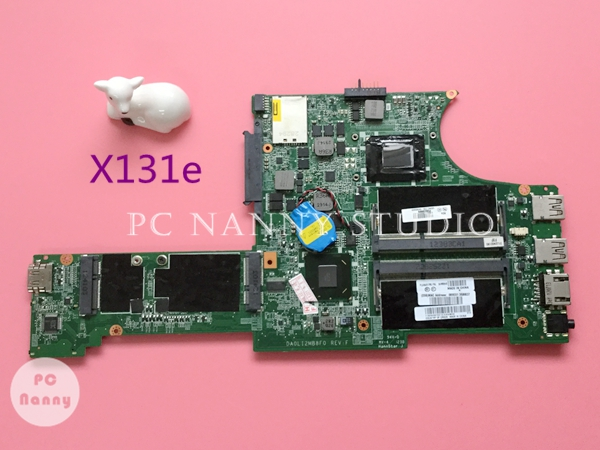 04W3645 DA0LI2MB8F0 For Lenovo ThinkPad X131e Laptop System Motherboard 1.4GHz Intel GMA HD 3000 i3 2367 DDR3