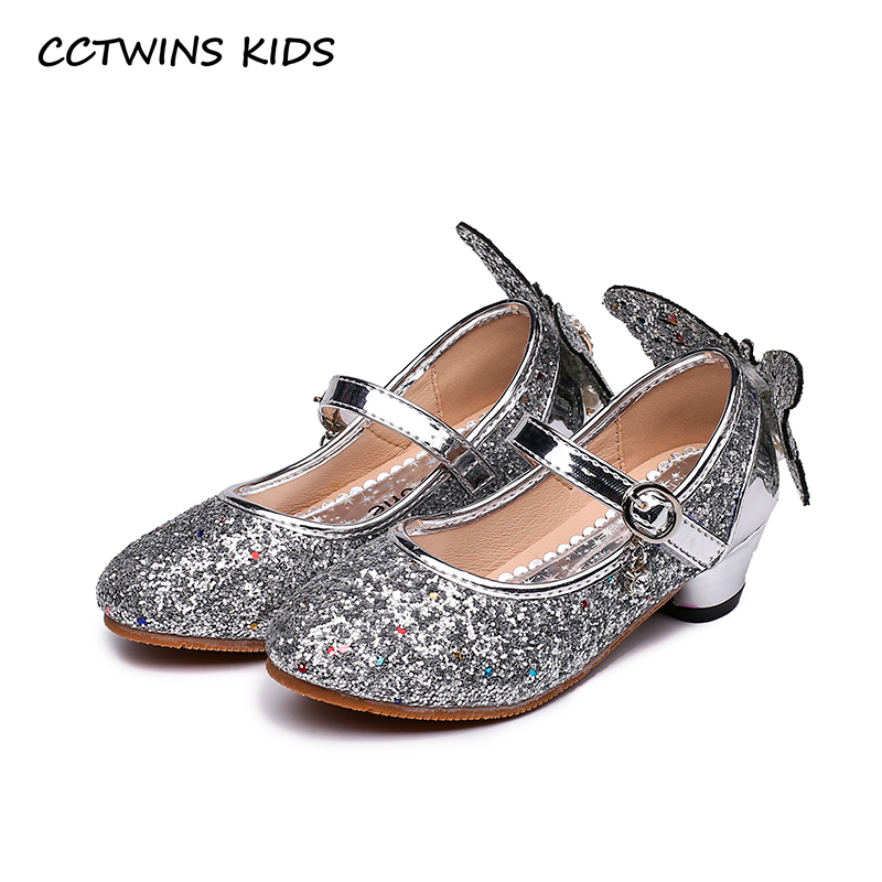 CCTWINS KIDS 2018 Autumn Girl Fashion Mary Jane Children Pu Leather Flat Baby Brand Butterfly Princess Shoe Black GH1723 cctwins kids 2018 spring fashion pink princess butterfly shoe children genuine leather mary jane baby girl party flat gm1942