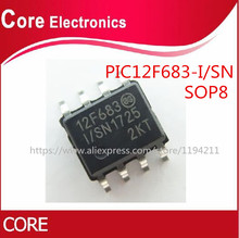 100 adet PIC12F683 I/SN PIC12F683 PIC12F683 I 12F683 SOP 8 en kaliteli