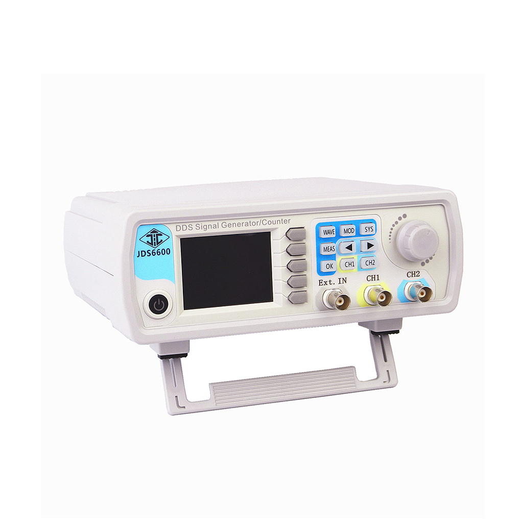 JDS6600 Digital Dual-channel DDS Function Signal Generator Arbitrary Waveform Pulse Signal Generator 15 MHz Frequency Meter fy6600 15m 30m 50m 60m dds dual channel function arbitrary waveform generator pulse signal source frequency meter feeltech